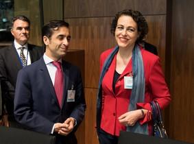 La ministra de Trabajo española, Magdalena Valerio.