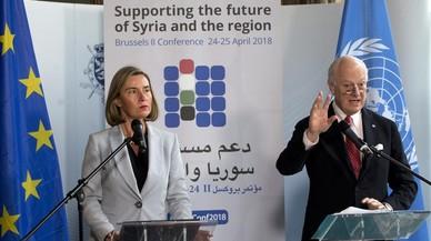"""Mogherini, sobre Siria: """"Necesitamos silenciar las armas por motivos políticos y humanitarios"""""""