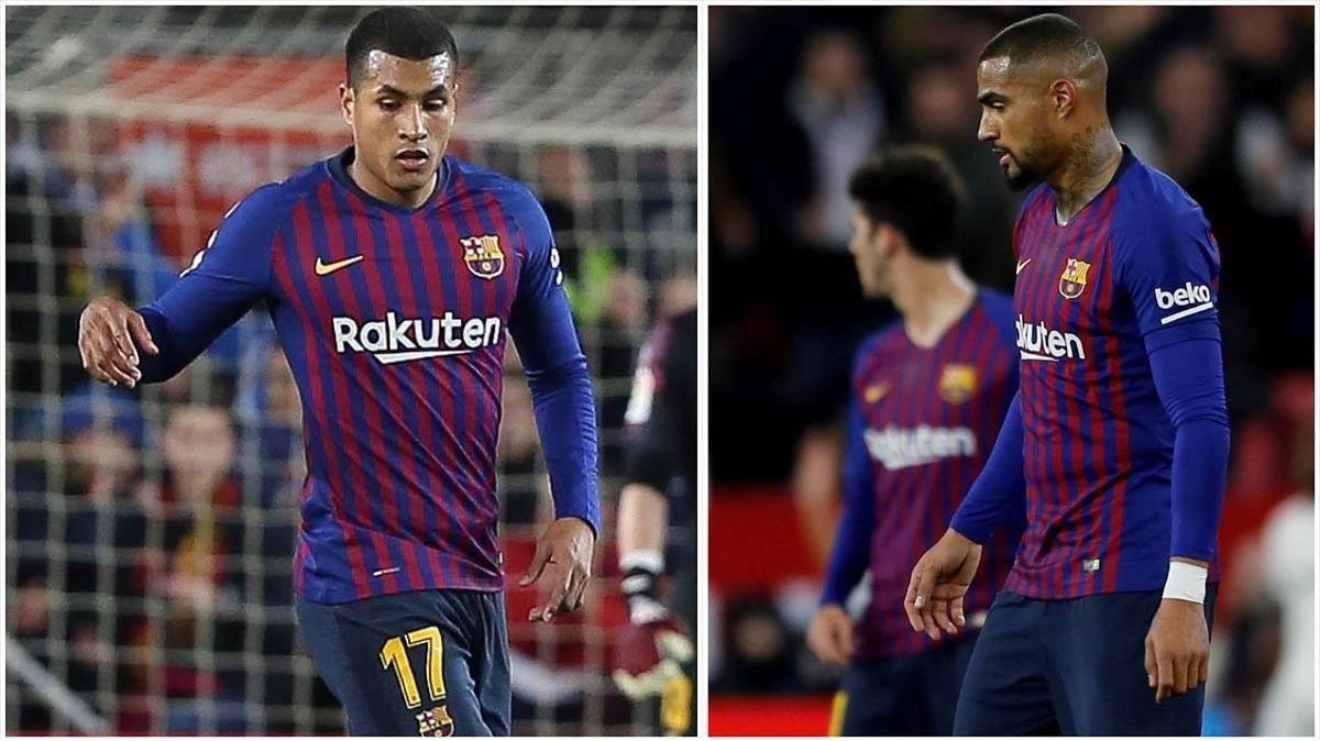 Murillo y Boateng, los dos fichajes de invierno del Barça.