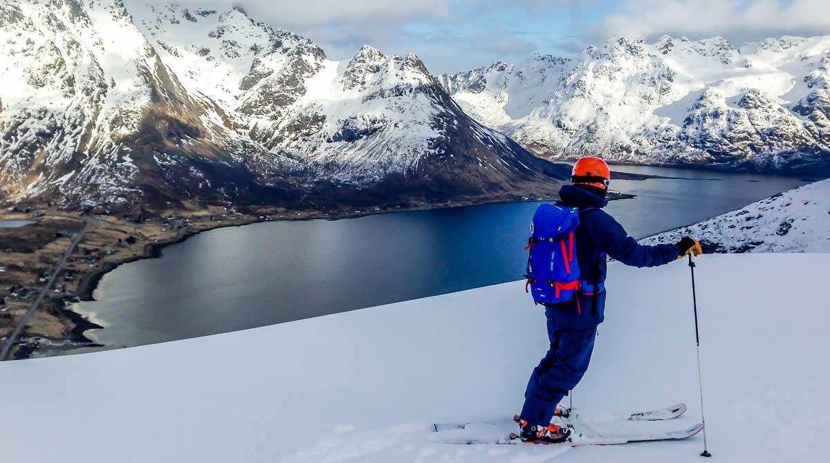De l'esquí al surf a les illes Lofoten