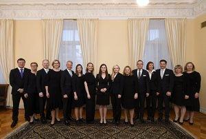 Foto del nuevo Gobierno de Finlandia, con una gran mayoría de mujeres (faltan dos de ellas)