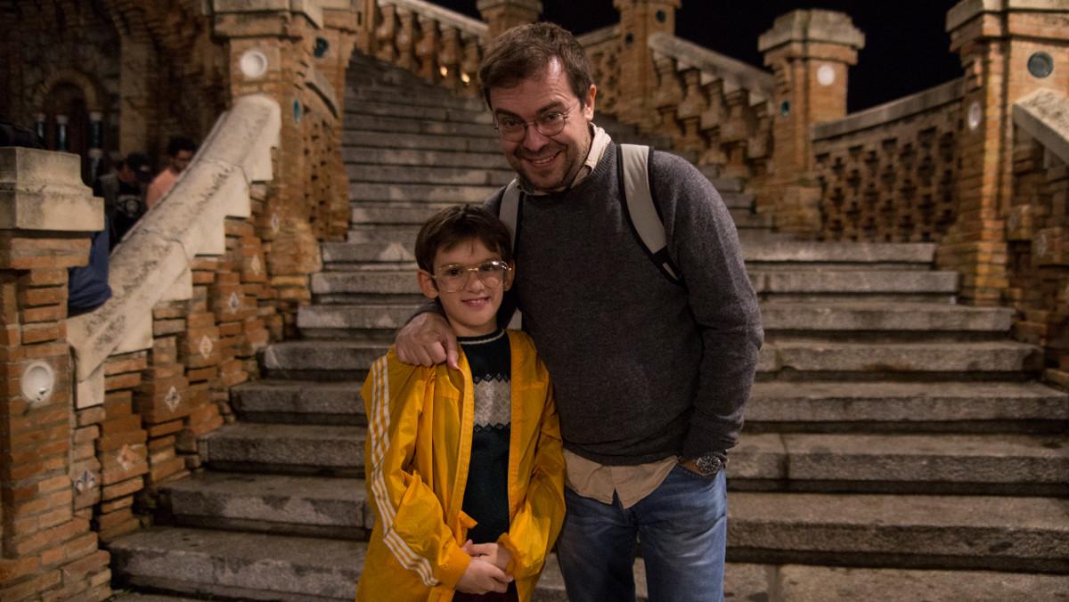 Javier Sierra y su hijo Martín, protagonistas de Otros mundos en Movistar+.