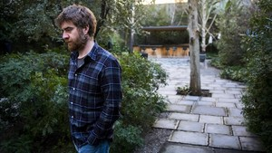 El escritor italiano Paolo Cognetti, en su reciente visita a Barcelona.