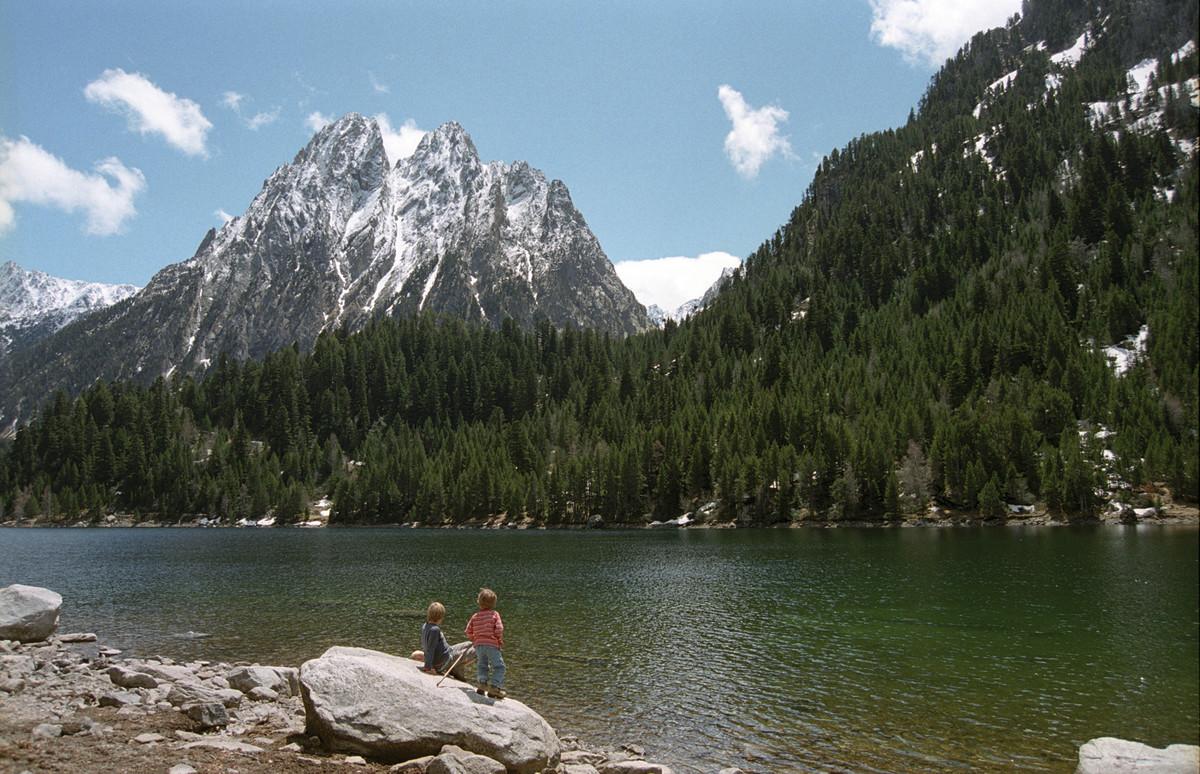 El Parc Nacional dAigüestortes.
