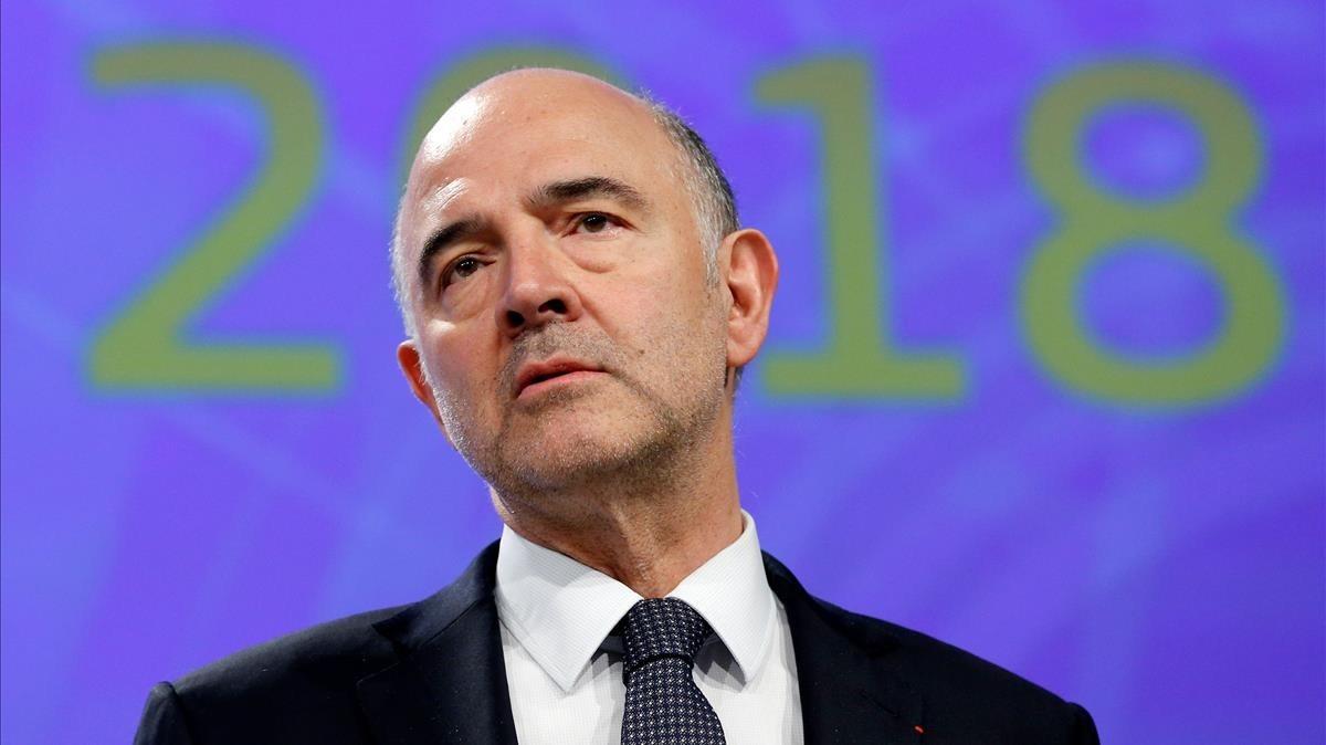 El comisario de Asuntos Económicos,Pierre Moscovici, en una imagen de archivo.