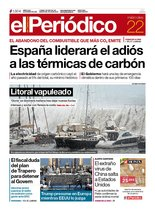 La portada de EL PERIÓDICO del 22 de enero del 2020.