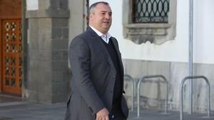 Miguel Ángel Ramírez, presidente de la UD Las Palmas.