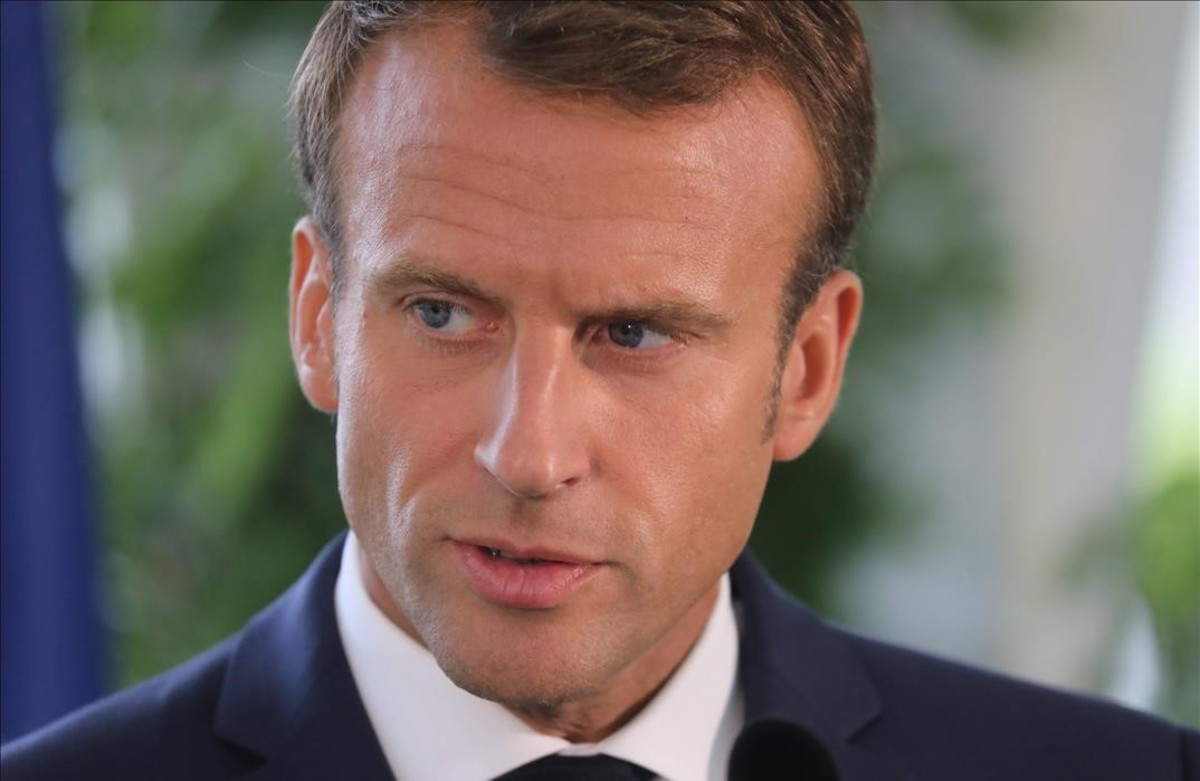El primer ministro francés, Emmanuel Macron.