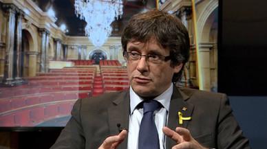 Puigdemont se erige en el César de la secesión