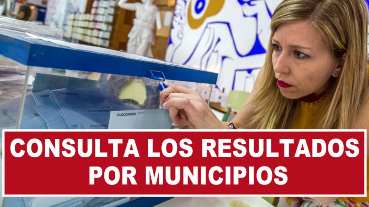 Resultados de las elecciones municipales 2019 por municipios
