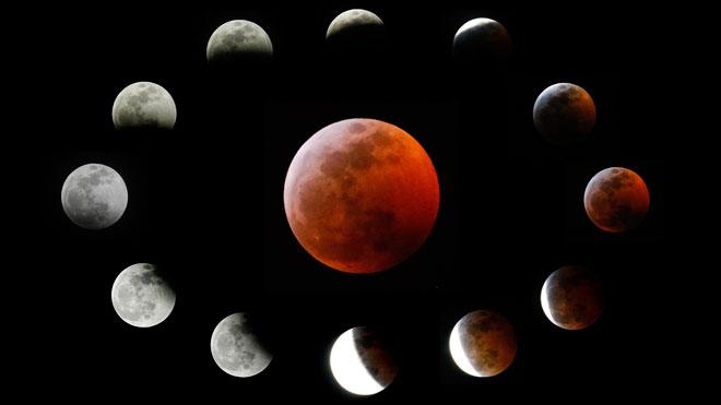 Vídeo | Així s'ha vist l'eclipsi de Lluna