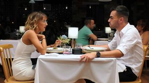 Rocío y Ángel en 'First Dates'.