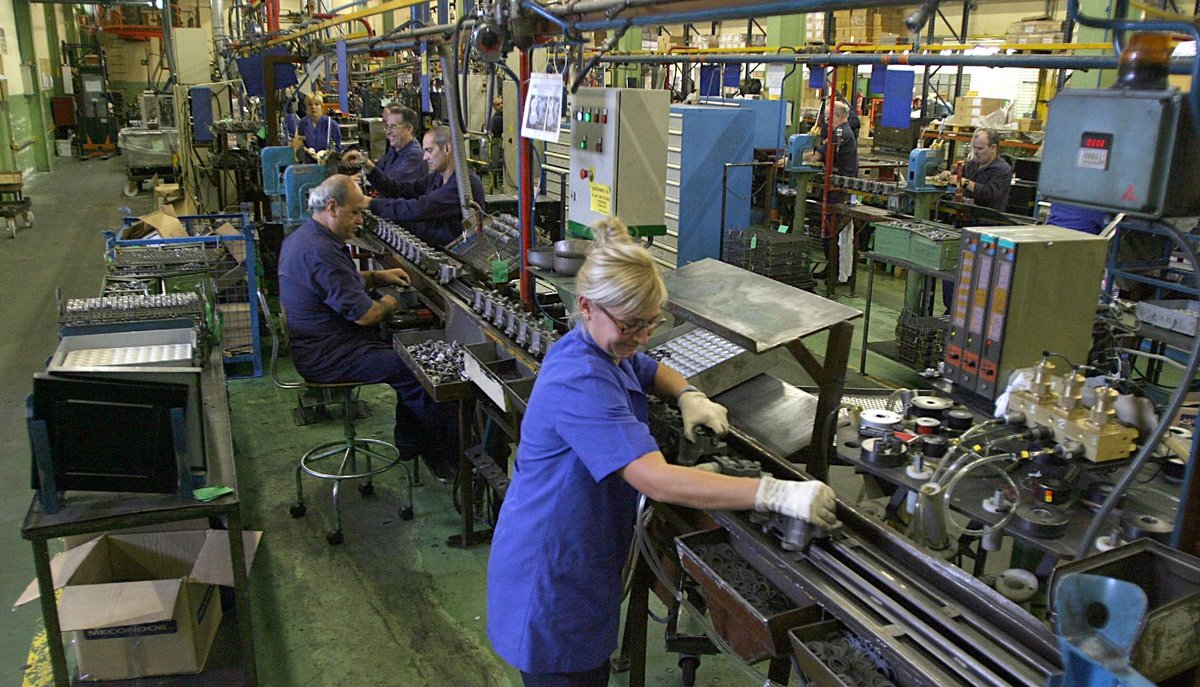 Imagen de archivo de la fábrica de compresores de Sant Quirze del Vallès, entonces bajo la propiedad de Unidad Hermética. Ahora pertenece aHuayi Compressor.