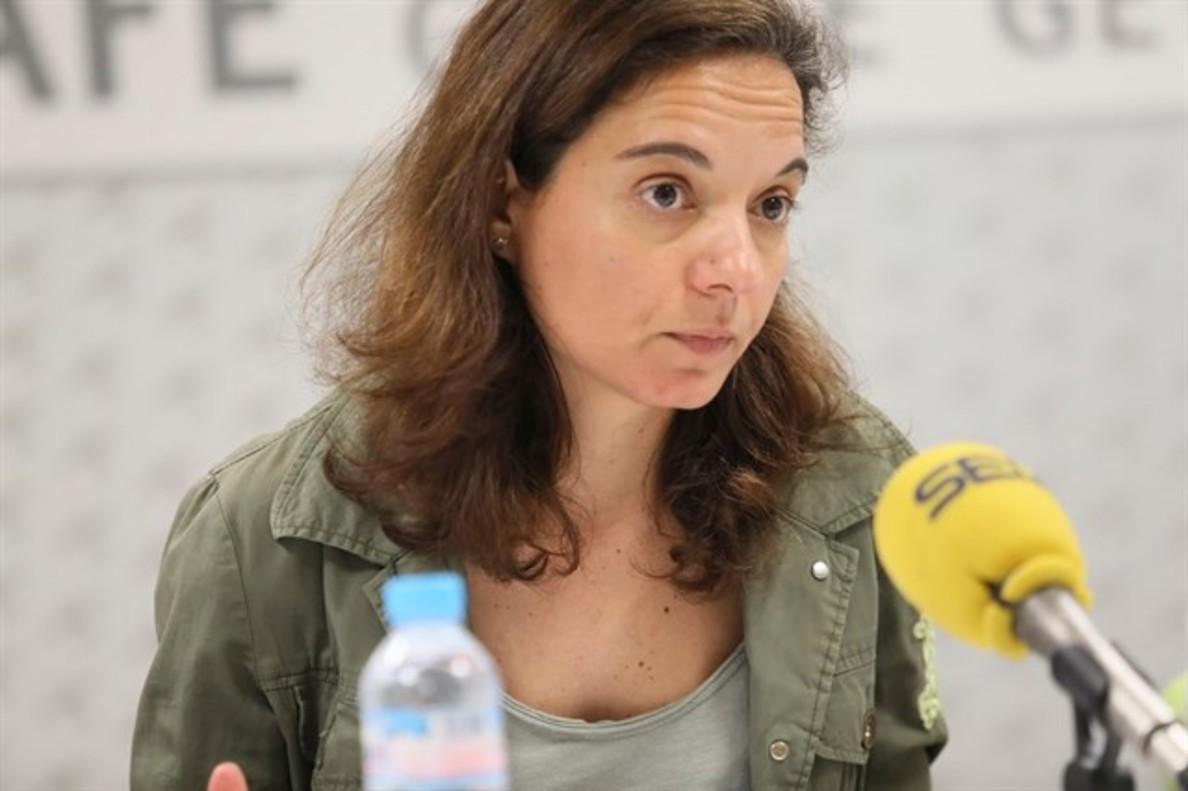 Sara Hernández, alcaldesa de Getafe.