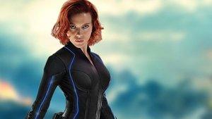 Scarlett Johansson, en una imagen promocional de 'Viuda negra'