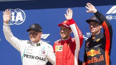 Vettel exprime su nuevo motor