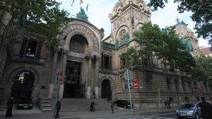 Sede de la Audiencia de Barcelona.