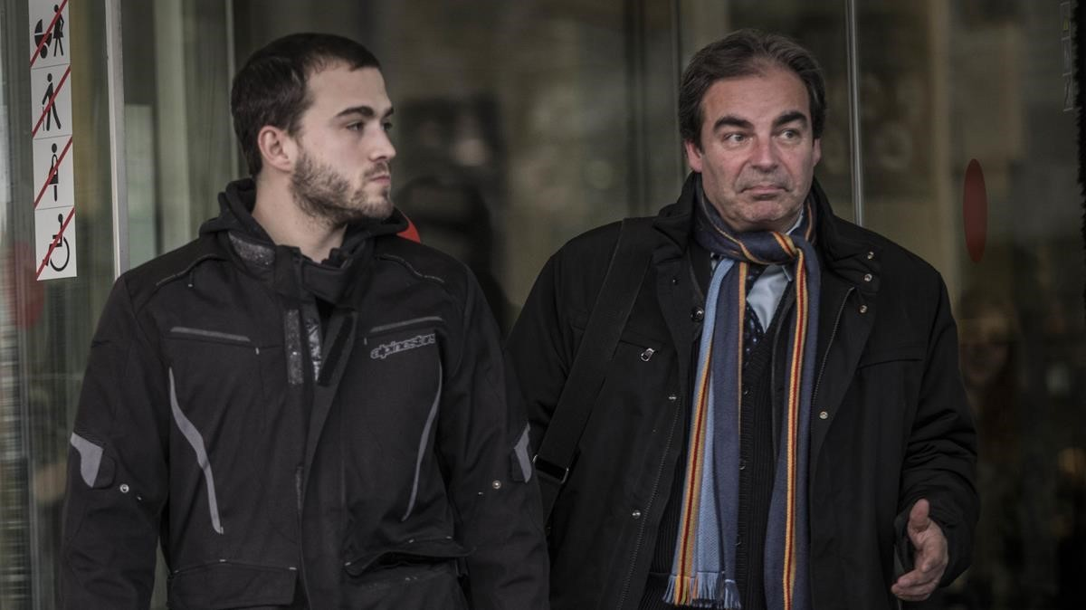Sergi Aymerich, otro de los empresarios que han declarado este miércoles.