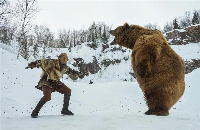 Secuencia de la serie Vikingos, que estrenará TNT pronto en su cuarta temporada.