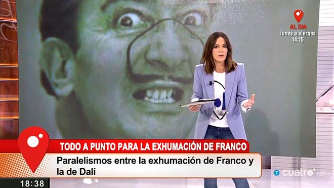 Franco i Dalí: mòmies no comparables