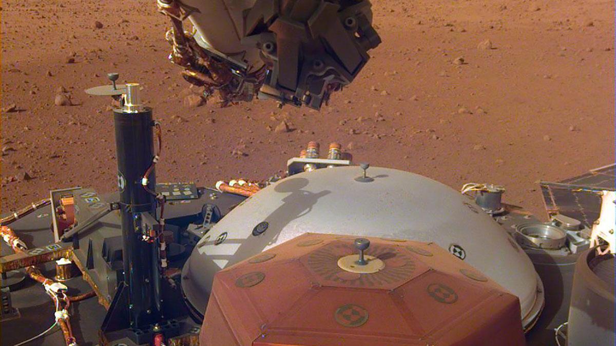 El Sonido del viento en Marte