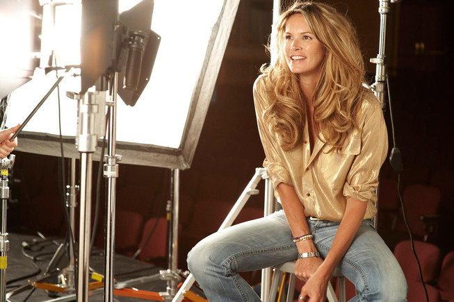 La supermodelo australiana Elle Macpherson.