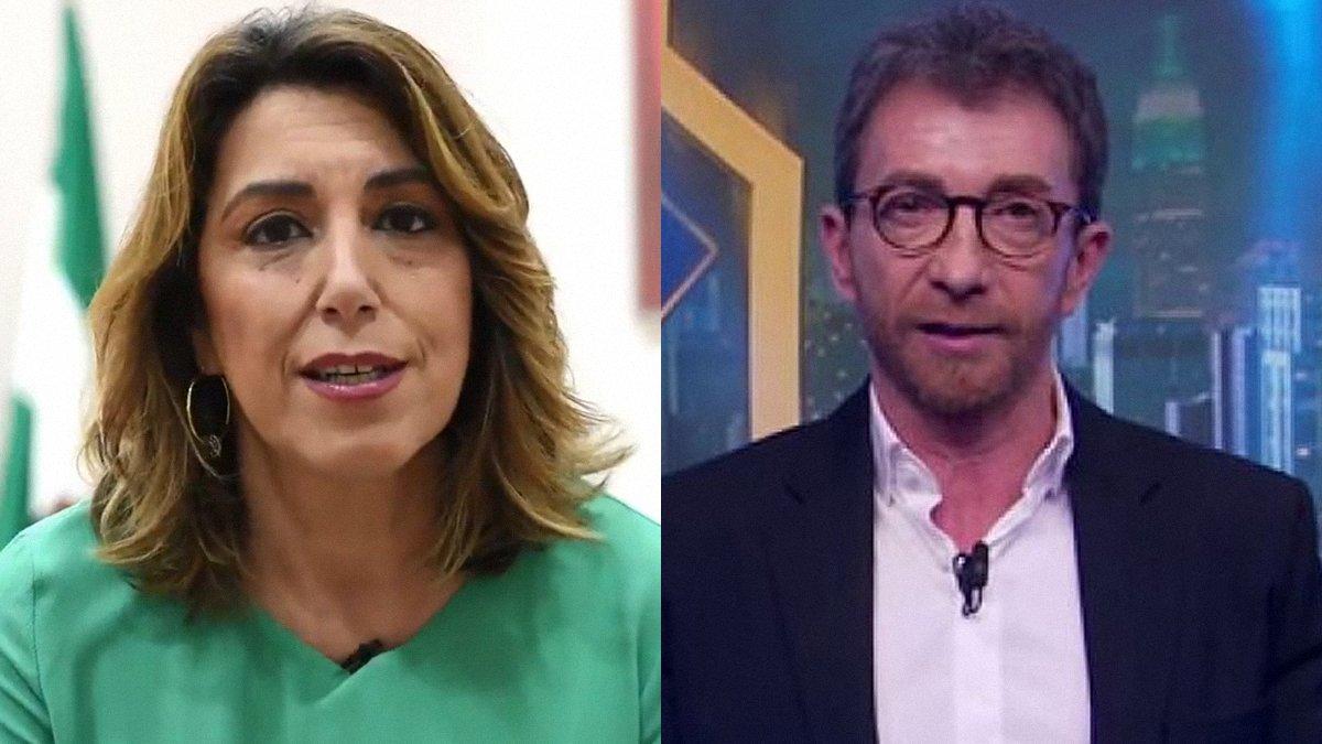Susana Díaz respon a Pablo Motos després de la seva última polèmica: «Ja n'hi ha prou d'atacar el nostre accent»