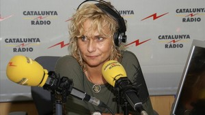 Mònica Terribas, directora de Elmatí de Catalunya Ràdio.
