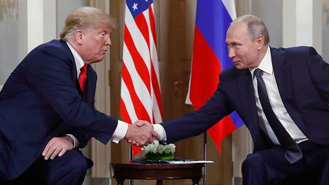 Trump y Putin celebran el Helsinki su primer encuentro oficial.