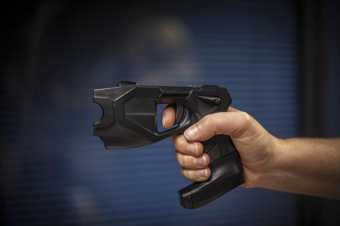 Una pistola eléctrica Taser.