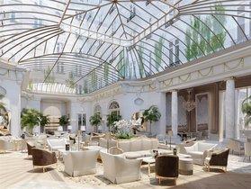 Uno de los salones del hotel Ritz en Madrid.