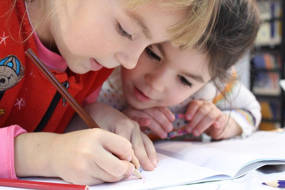 Unos niños, en una foto de archivo.