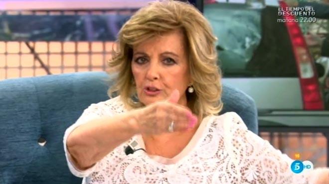María Teresa Campos en el 'Deluxe' (Tele 5).