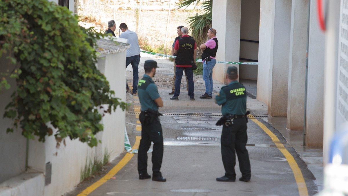 Vivienda de El Morche, núcleo de población de la localidad malagueña de Torrox, donde fue hallado el cadáver de una mujer de 44 años el jueves con heridas por arma blanca.