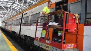 Retards de Rodalies entre Sitges i Vilanova i la Geltrú per una fallada en el sistema elèctric