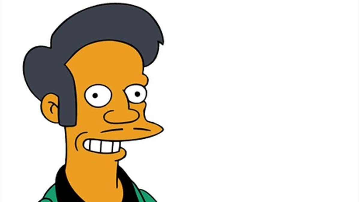 Apu, el controvertido personaje indio de la serie 'Los Simpson'.
