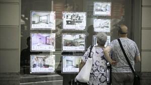 Agencia inmobiliaria en Barcelona.
