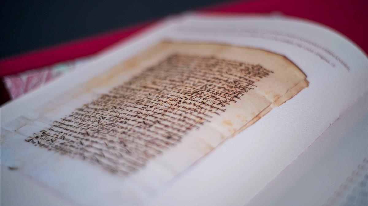 Una de las cartas del rey Fernando el Católico descifradas por el Centro Nacional de Inteligencia.