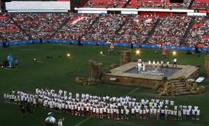 Ballesteros diu que els seients buits eren d'atletes, comitès olímpics i voluntaris