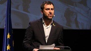 """ERC demana Comín """"coherència"""" però no li exigeix que torni l'acta de diputat"""