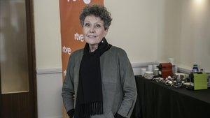 Rosa María Mateo, administradora única de RTVE, el pasado miércoles en Barcelona.