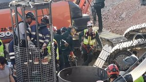Els miners ja han obert 1,5 metres de la galeria que ha de donar accés al Julen