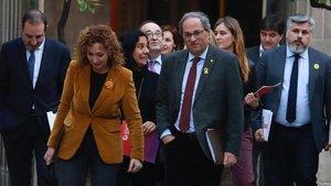 La taula de diàleg pren impuls malgrat el veto de Ciutadans, el PP i la CUP