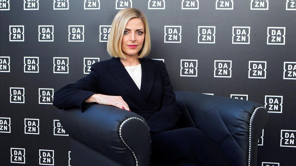 La vicepresidenta ejecutiva para el sur de Europa de Dazn, Veronica DiQuattro.