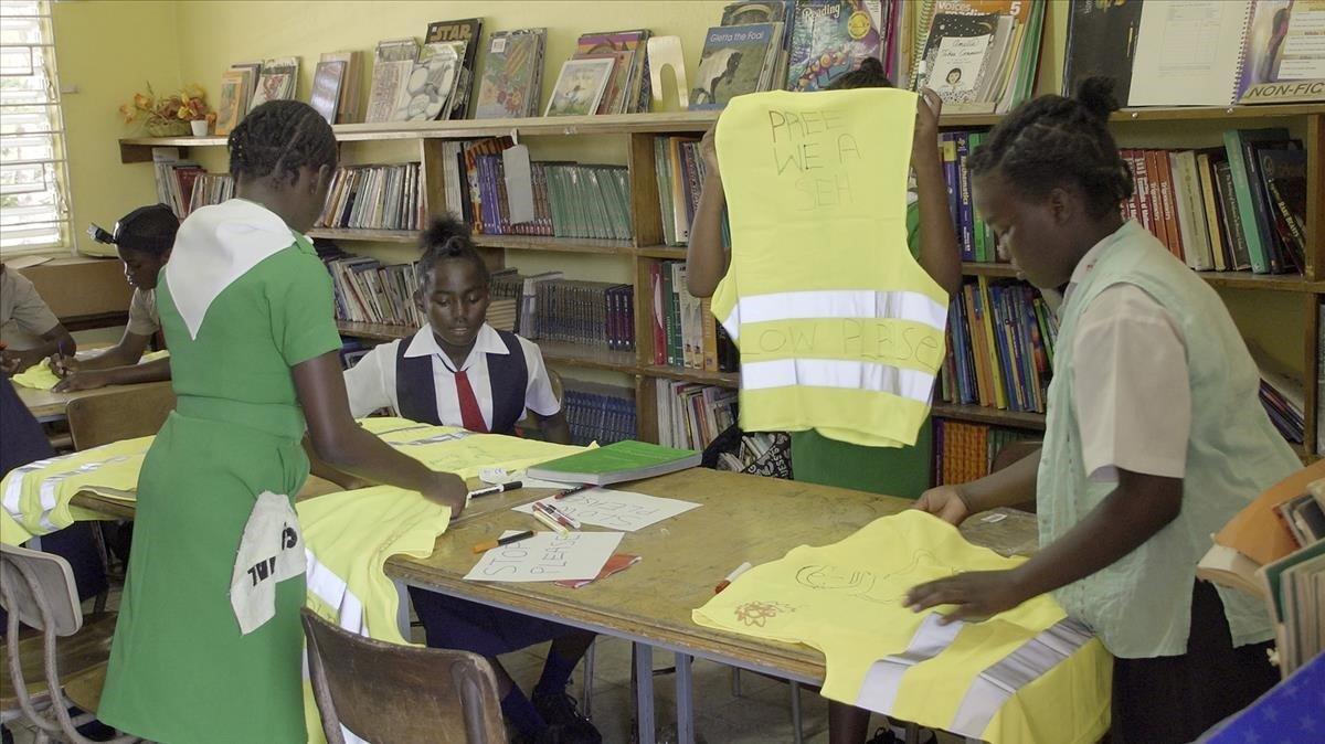 El proyecto 'Rights of Way' pretende mejorar la seguridad infantil de Sao Paulo y Río de Janeiro, en Brasil.
