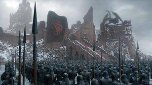 Una imagen del último capítulo de Juego de tronos.