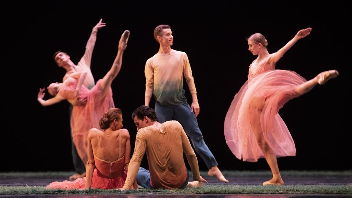 Ballet del teatro Mariinski, la noche del jueves en Peralada.