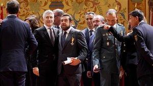 Marlaska considera «proporcional» l'actuació policial a Catalunya