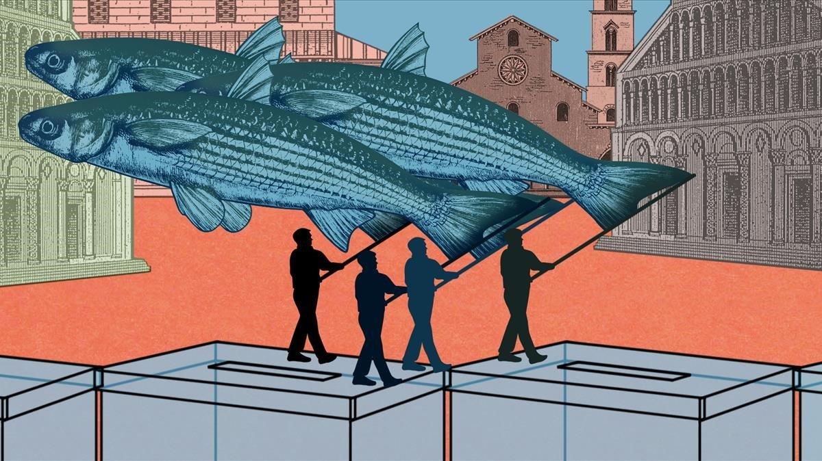 El profundo mar de las 'sardine'