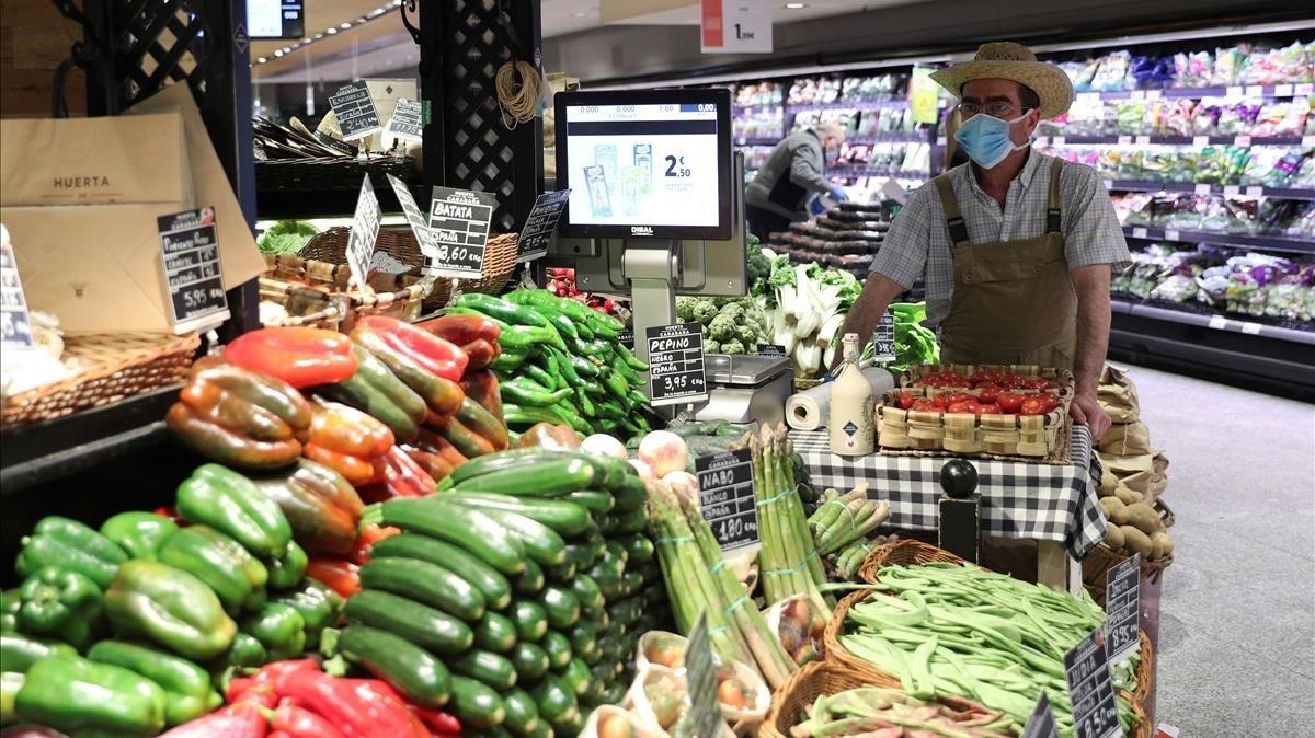 El comerç alimentari arriba exhaust al pont de Setmana Santa